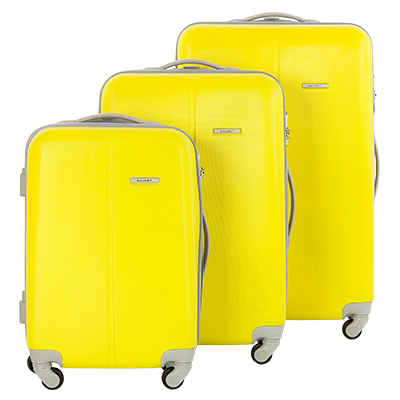 8f5eb33d3969 Купить чемодан Baudet 24* желтый, в Минске